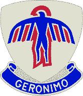 Escudo del regimiento 501 de paracaidismo