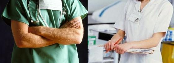 cirujano enfermera
