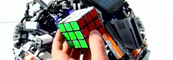 cubestormer ii robot resuelve cubo de rubik