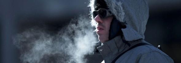 podemos ver aliento cuando hace frio