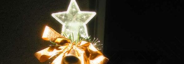 Resultado de imagen para estrella en el arbol de navidad