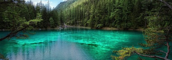 el lago verde Estiria