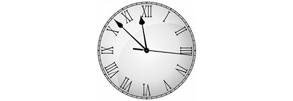 por que las agujas del reloj giran a la derecha
