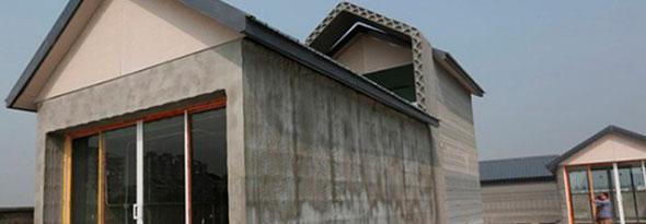 en china ya construyen casas en 3d