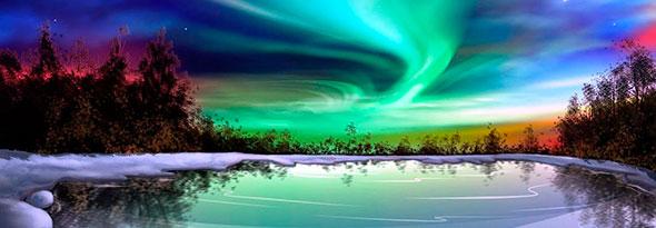 mejor estacion para disfrutar de aurora boreal