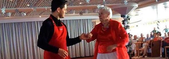 Una viuda lleva vivendo años en un crucero