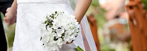 ¿Sabías por qué las novias se casan de blanco?
