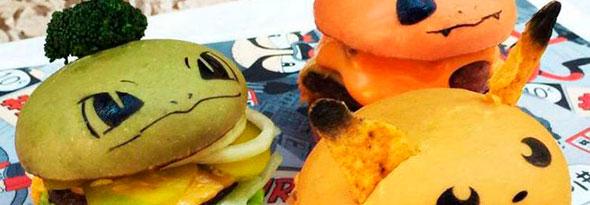 Crean las hamburguesas Pokémon