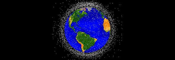 Lanzan una nave para recoger basura espacial
