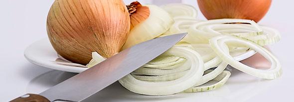 ¿Por qué lloramos cuando cortamos cebolla?